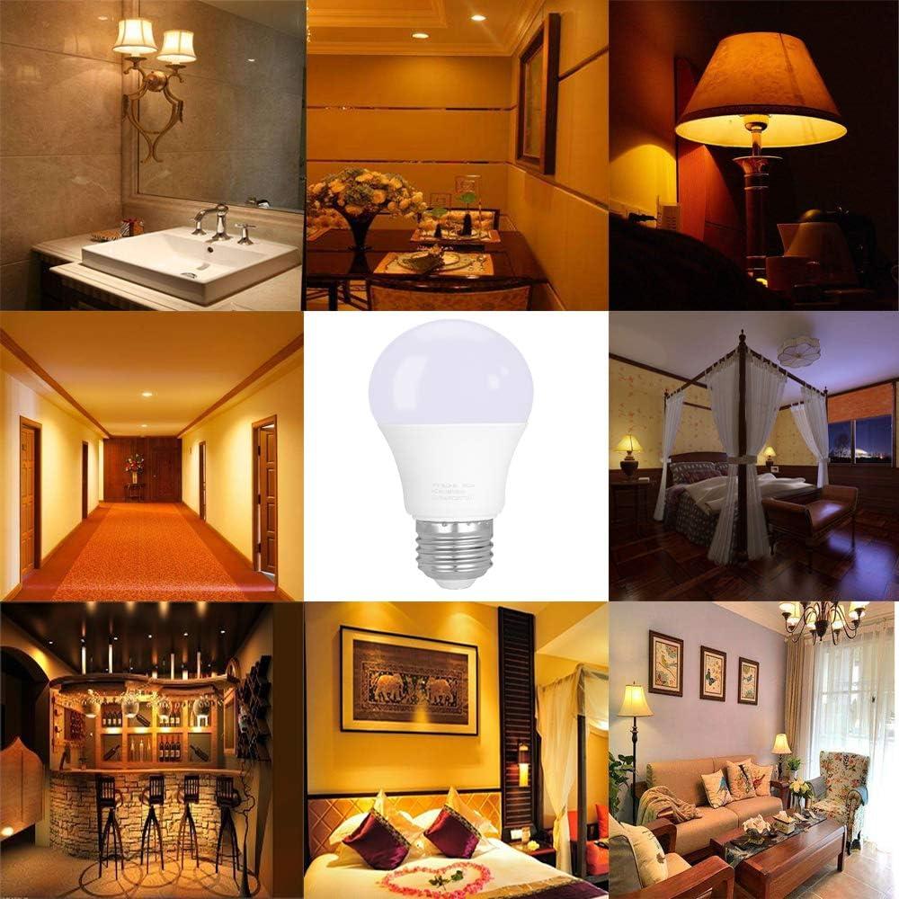Amazon Com 40 Watt Incandescent Equivalent Led Light Bulbs 5 W Lighting Fixture Soft Warm White A55 450 Lumens E26 Medium Base Bright For Home Or Decorative Pack Of 5 Home Improvement