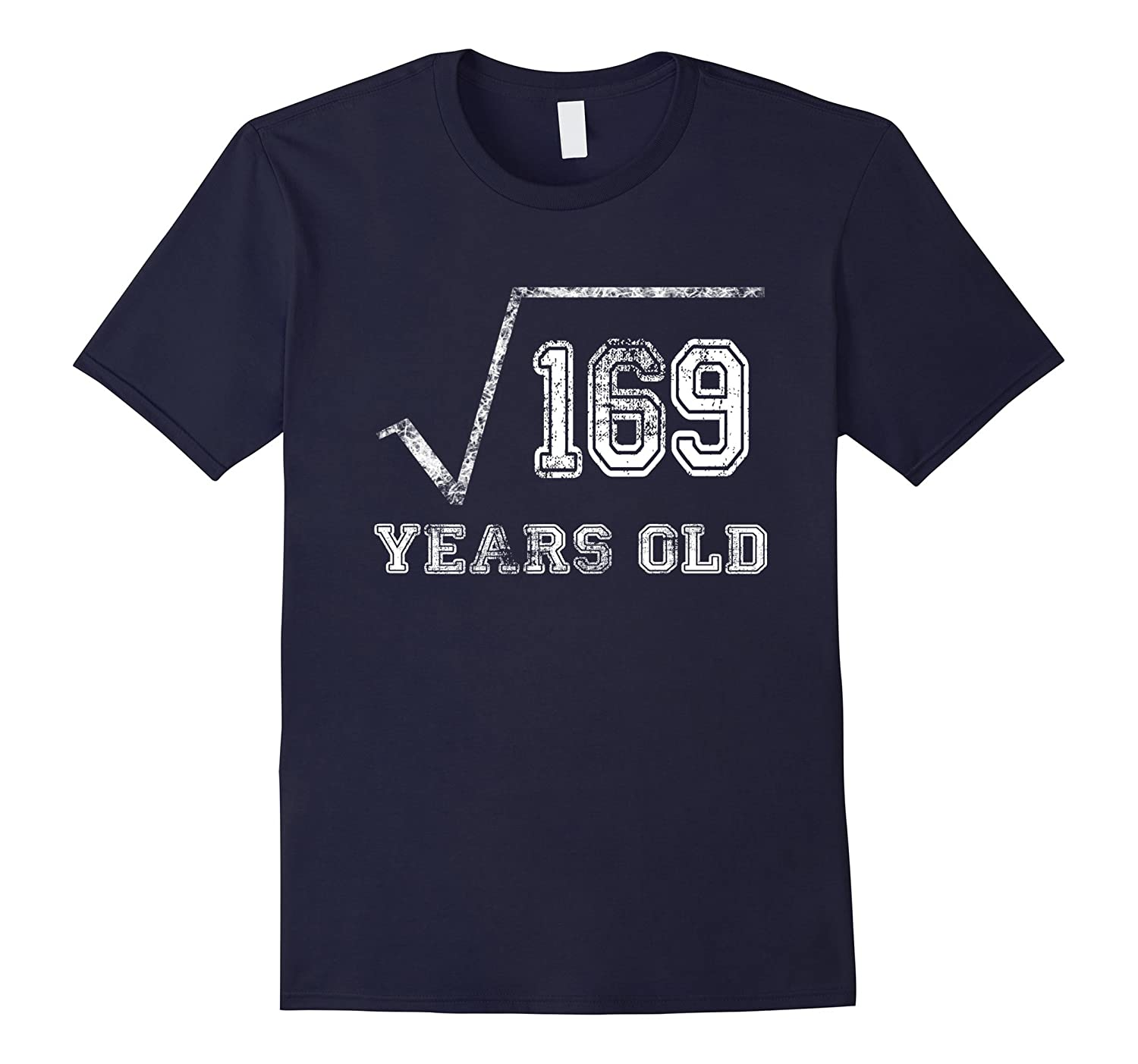 13 Year Old Square Root 169 Shirt, 13rd Birthday, Born 2004-TH