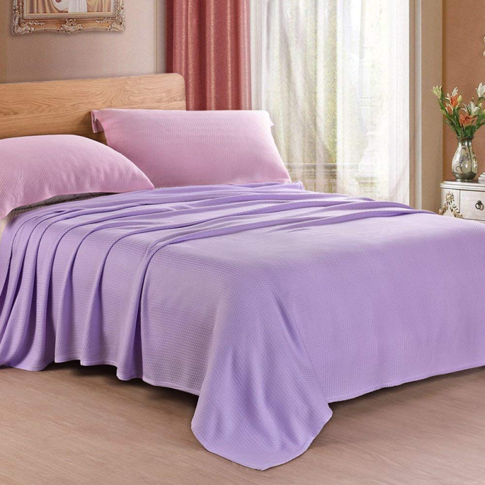 Lingyuan 竹繊維毛布、夏毛布、夏シングルダブル毛布、子供用仮眠毛布、毛布 (Color : D, サイズ : 200x230cm) B07R3RFLNB D 200x230cm