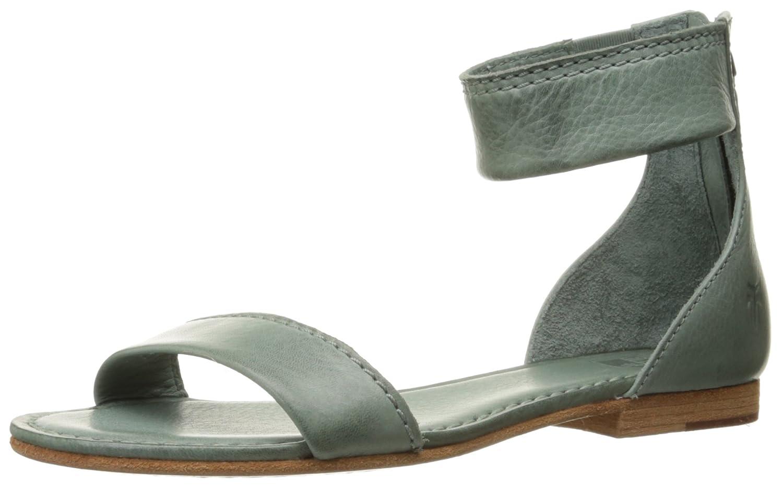 FRYE Women's Carson Ankle Zip Gladiator Sandal B014IBTROG 7.5 B(M) US|Sage-72107