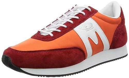 Karhu ALBATROSS 8 RED-WHITE. Zapatilla deportiva casual. Hombre. Talla 40,5: Amazon.es: Zapatos y complementos