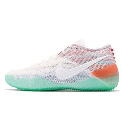 new style 00d5f 1f05a Nike Men's Kobe AD NXT 360 Basketball Shoes (10.5, White/Multi)