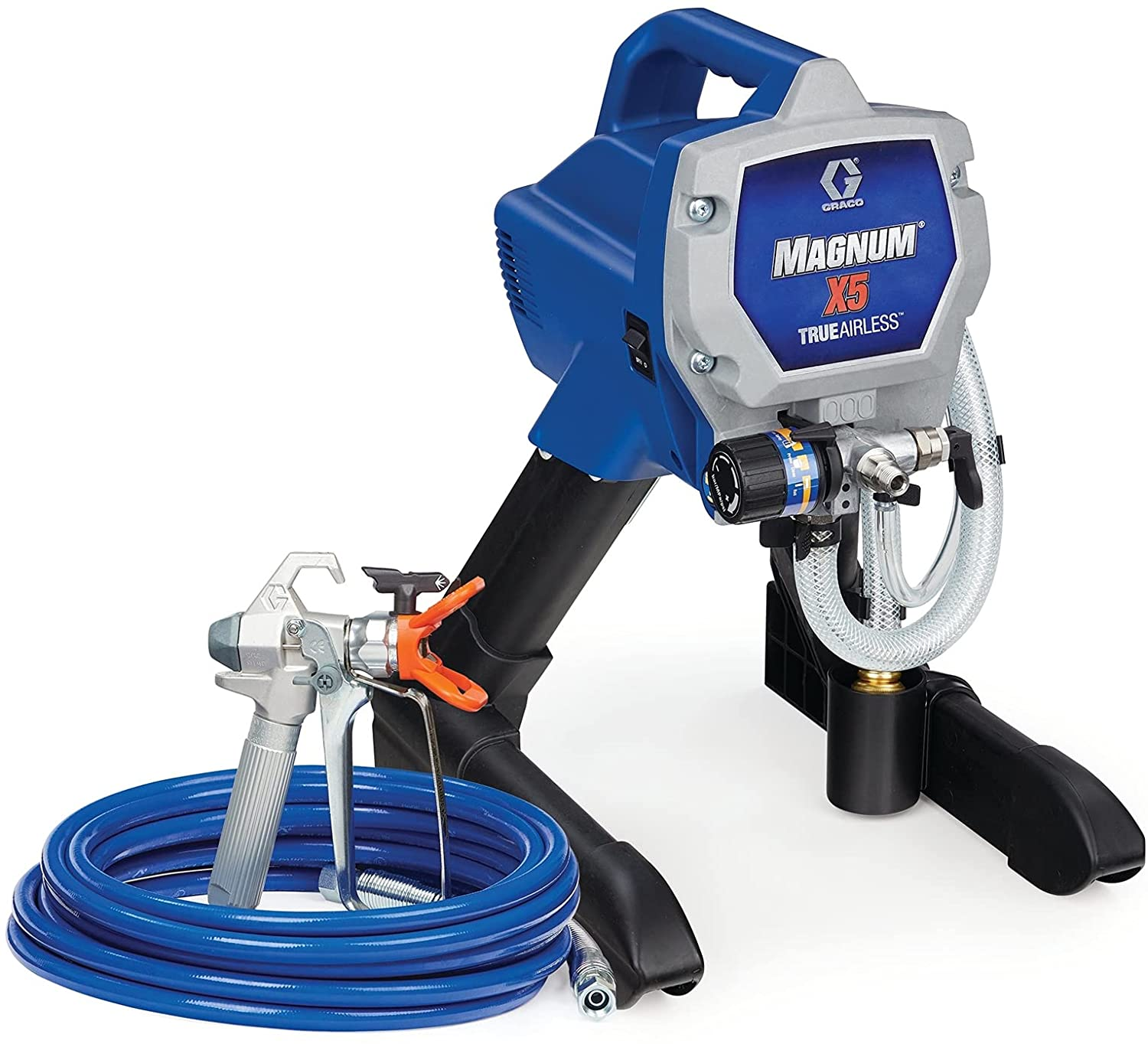 Graco Magnum X5 Stand Airless Paint Sprayer – Best Versatile Airless Paint Sprayer