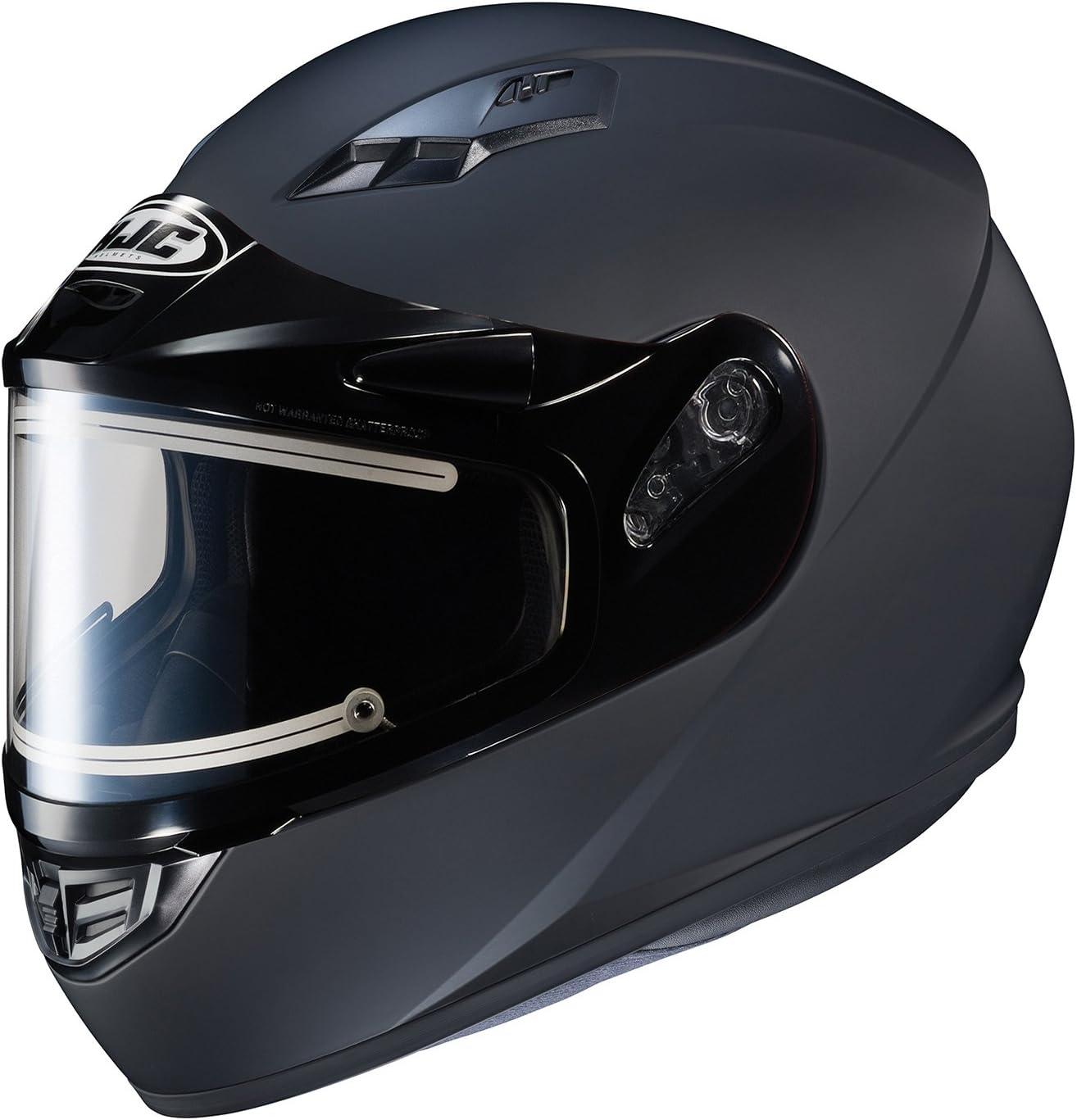 HJC CS-R3 Specs Snow Helmet with Electric Shield Matte Black Black, X-Large