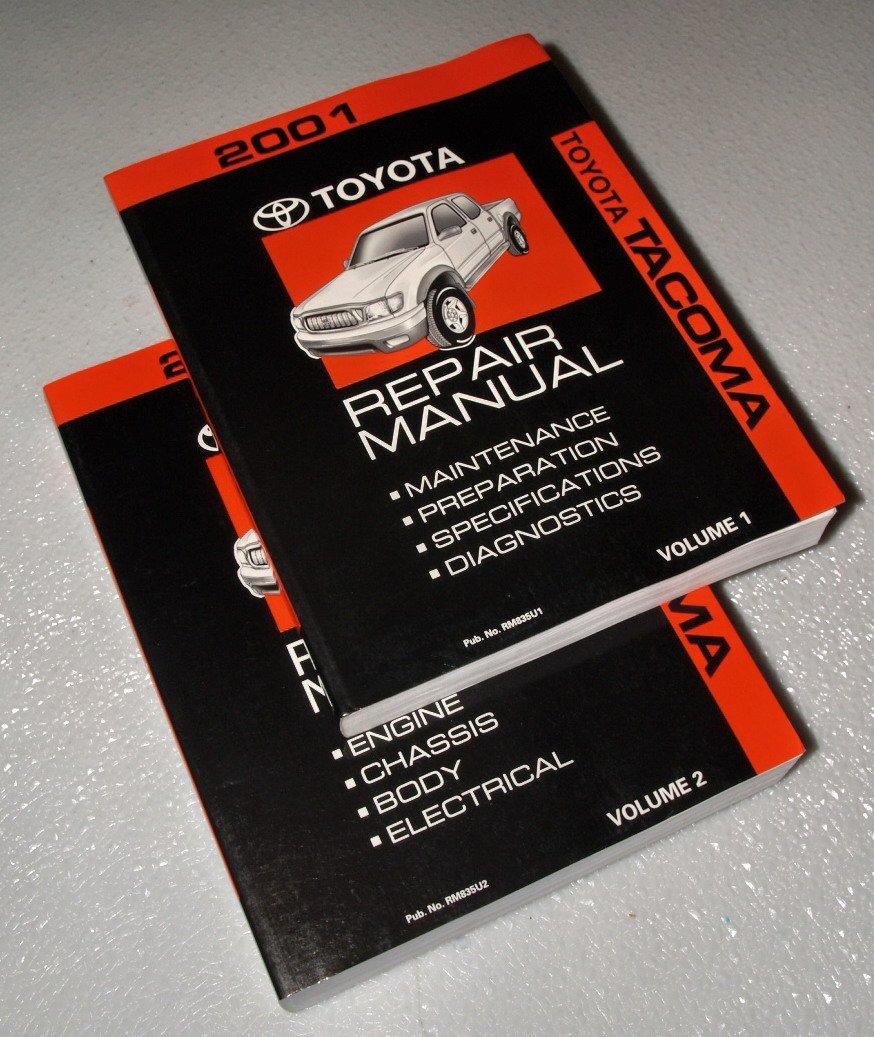 Toyota Tacoma Repair Manual 2001: Toyota Motor Corporation: Amazon.com:  Books