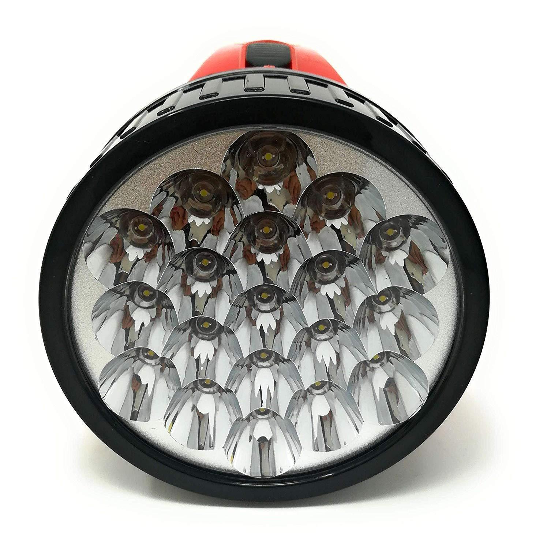 tr/ès puissante rechargeable Lampe torche 19/LED pour bateau port/ée 500/m
