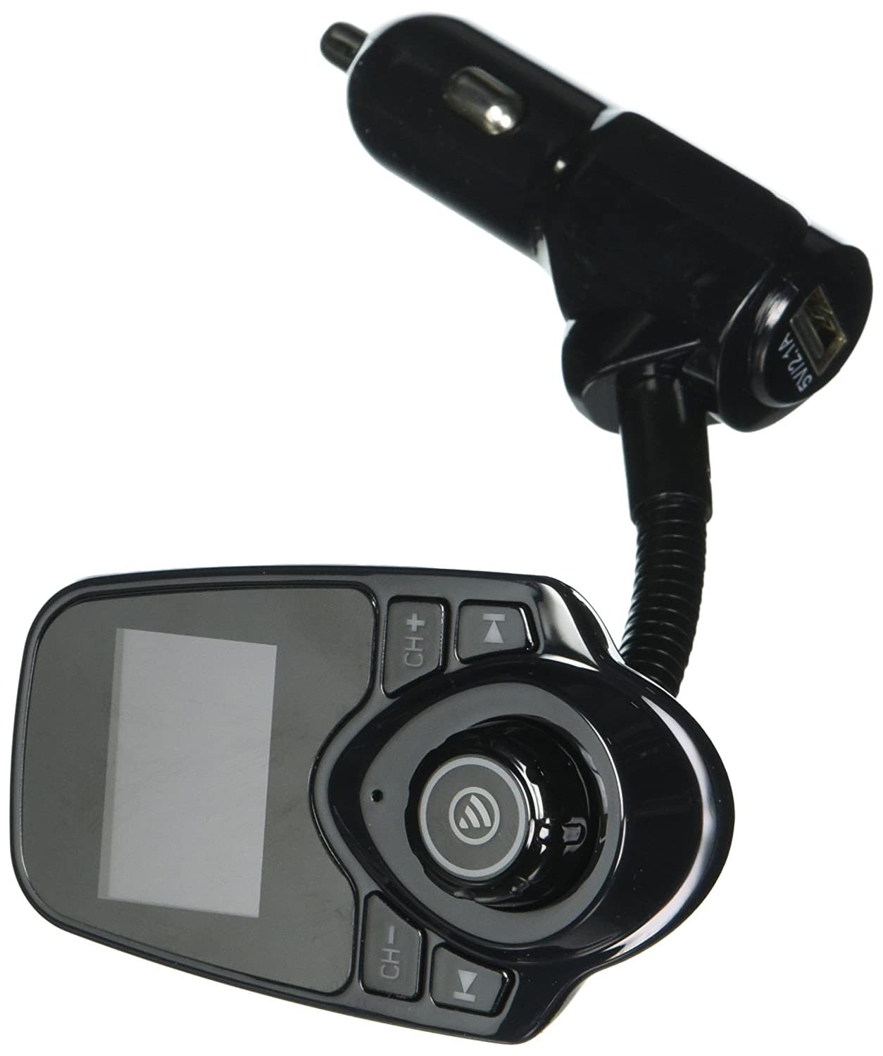 VicTsingワイヤレス車載Bluetooth FM送信機無線アダプタ車キットwith Dual USB Car Charger for iPhone、androidphone、Supoprt Siri Activation B019BZ1XZ0  - -