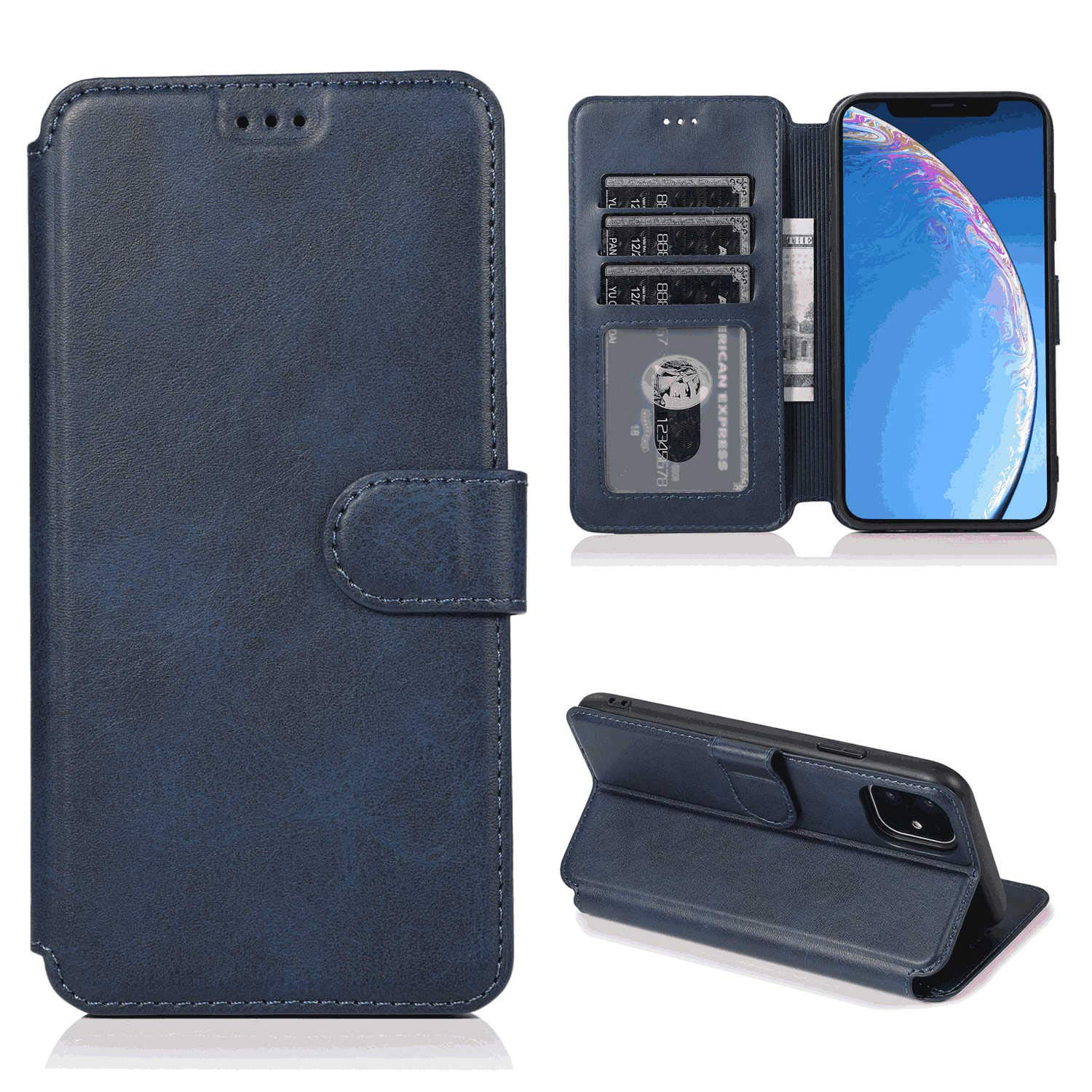 Flip Cover fit for Samsung Galaxy Note8 Business Gifts Simple-Style Leather Case for Samsung Galaxy Note8