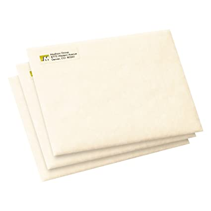 Amazon Avery Clear Easy Peel Return Address Labels 12 X 1 3