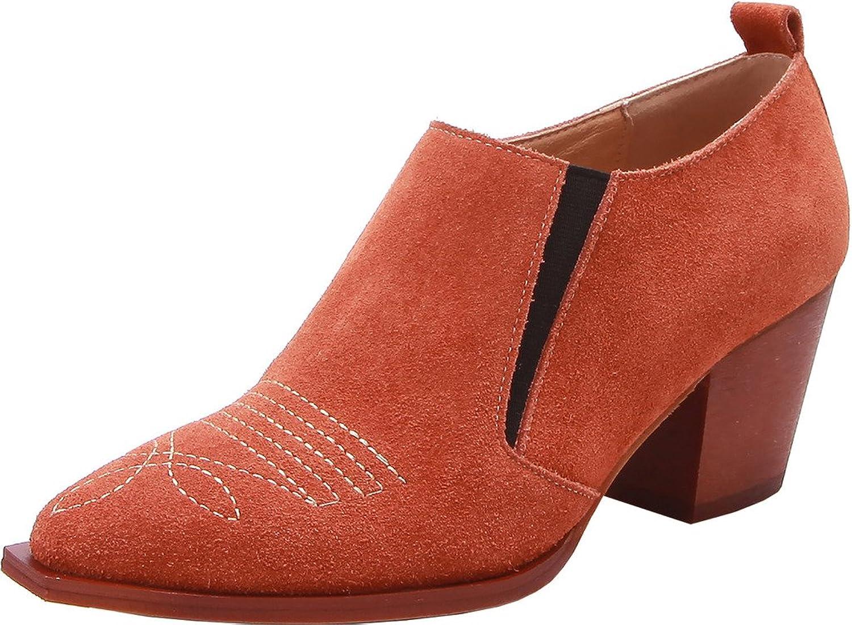 ELEHOT Womens Elenowadays 6.5CM mid-heel Boots