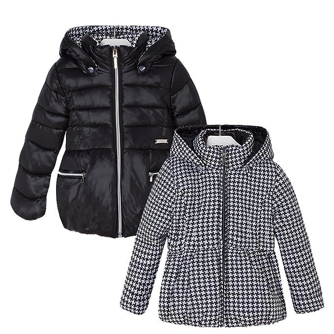 Mayoral - Abrigo impermeable - para niña negro 4 años : Amazon.es: Ropa y accesorios