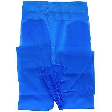 TiaoBug Sous- vêtement Homme Lingerie Érotique Legging Homme Collant avec Pénis  Poche Transparent Pantalons de c47959c9d44