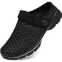 Zuecos Antideslizante para Niño Niña Respirable Zapatos de Jardín Ligeros Sandalias de Playa y Piscina Verano