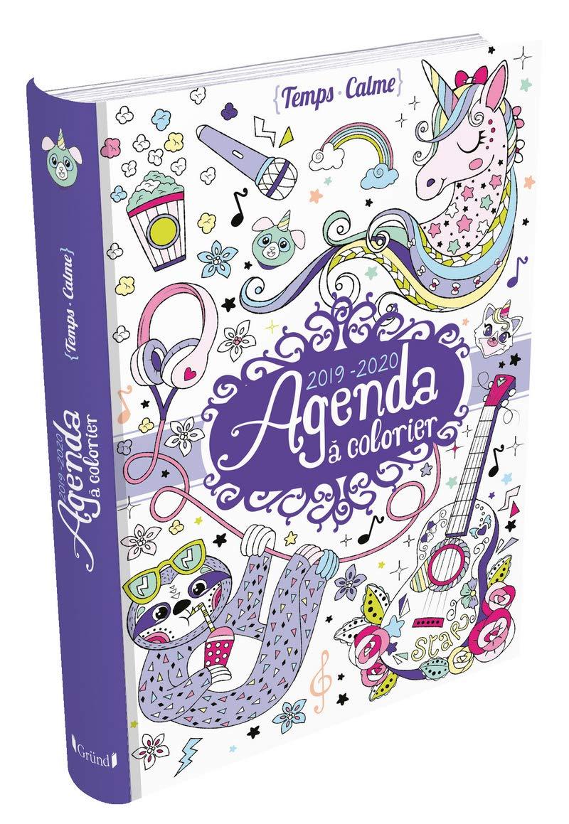 Agenda à colorier: 9782324024023: Amazon.com: Books
