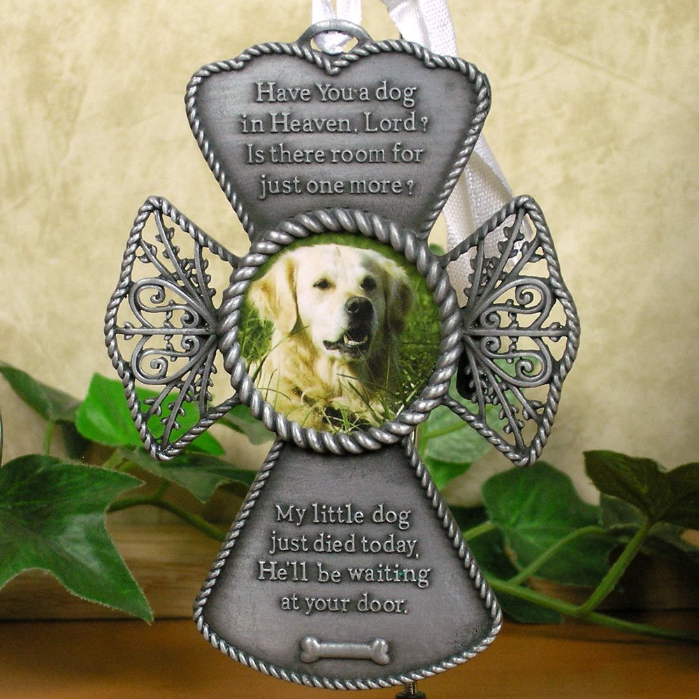 Amazon.com: Memorial Dog Ornament - Pet Christmas Ornament for the ...
