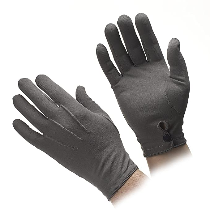 Edwardian Men's Accessories Mens Nylon Stretch Gloves MANY COLORS $11.95 AT vintagedancer.com