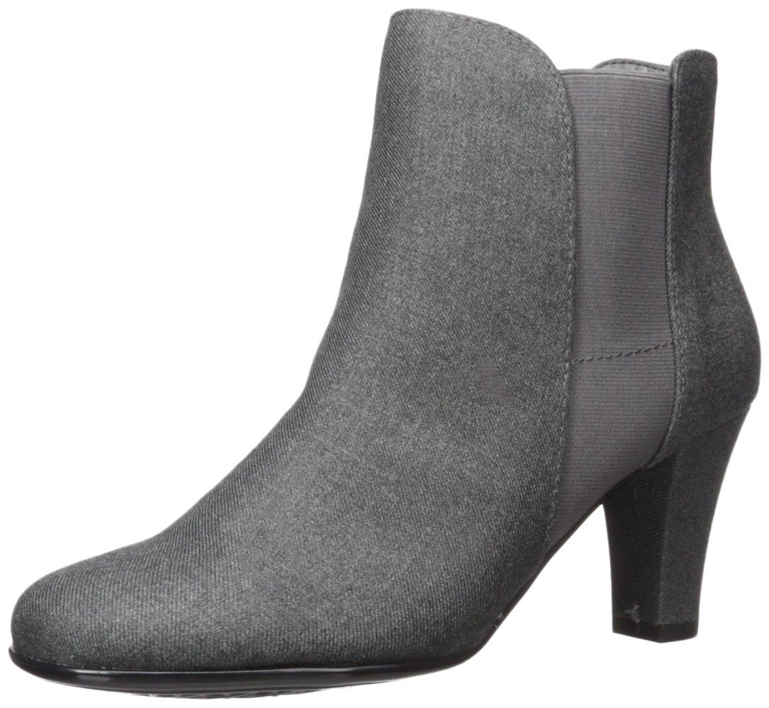 Aerosoles Women's Strole Along Ankle Boot B071VMKT7B 10 W US|Grey Wool