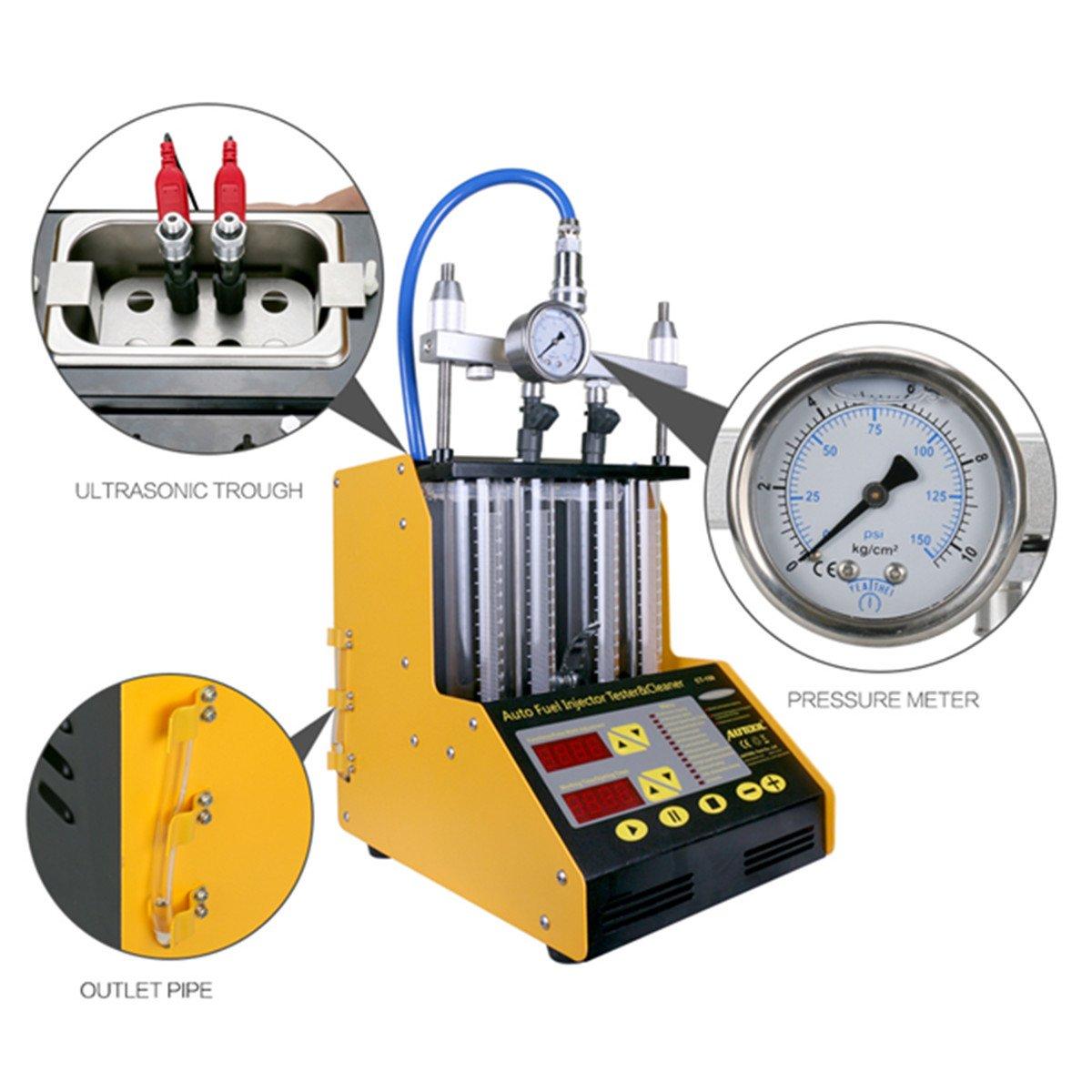 Probador y limpiador de inyectores de combustible, herramienta automotriz (CT150), de Autool: Amazon.es: Coche y moto