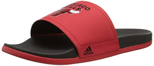 c037a7ad8e1b Adidas Performance Men s Adilette Chicago Bulls Sandals