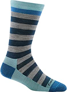 product image for Darn Tough Good Witch Crew Light Socks - Women's Dahlia Denim Medium,Dahlia Denim