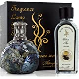 Ashleigh & Burwood Fragrance Lamp Gift Set - Neptune Lamp & White Tea Fragrance PFL705W