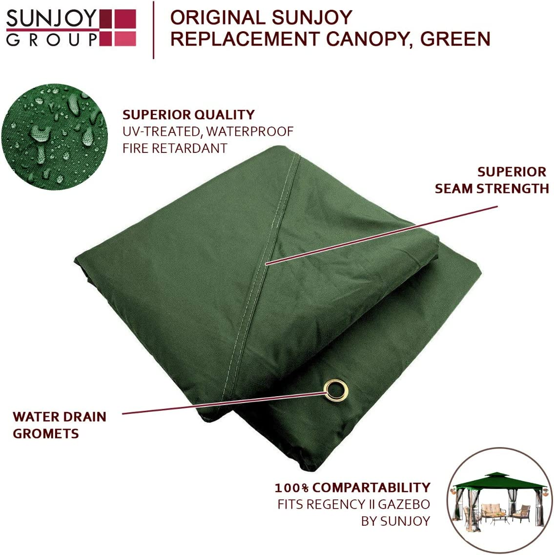 Replacement Gazebo Canopy