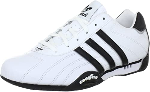 beneficioso Servicio Aditivo  adidas Originals Mens Adi Racer Low-0 Trainers G16080 White-Black 4.5 UK,  37 EU: Amazon.co.uk: Shoes & Bags