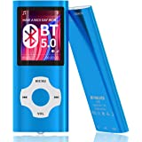 MYMAHDI Bluetooth 5.0 MP3 / MP4 Player with 32GB Memory Card, 1.8'' LCD Screen, Support Up to 128GB, Pedometer/Video…