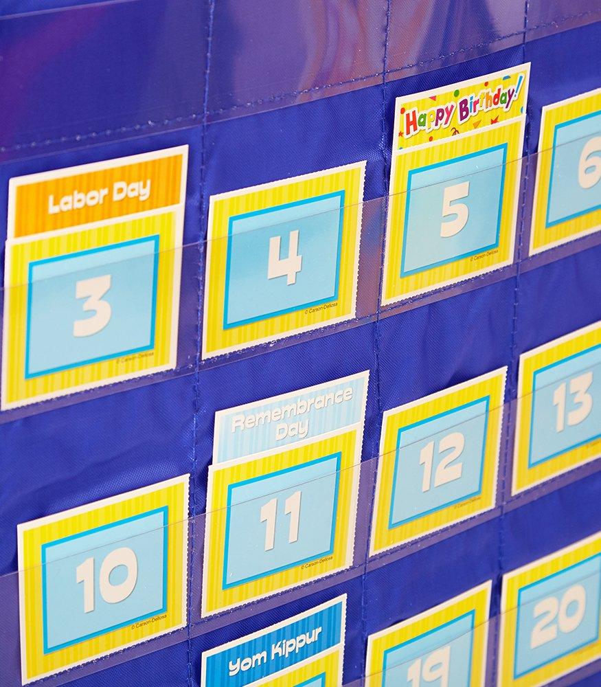 Carson Dellosa Deluxe Calendar Pocket Chart (158156) by Carson-Dellosa (Image #3)