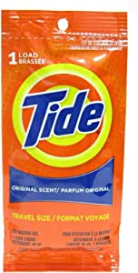Tide Single Machine Load Original Scent Detergent Liquid - 24 per case.
