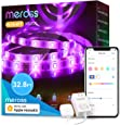 Smart Led Strip Lights Works with Apple HomeKit, meross Smart 5050 RGB Strip, Compatible with Siri, Alexa&Google and SmartThings for Home, Kitchen, Bedroom, Party, Christmas (2X16.4FT)