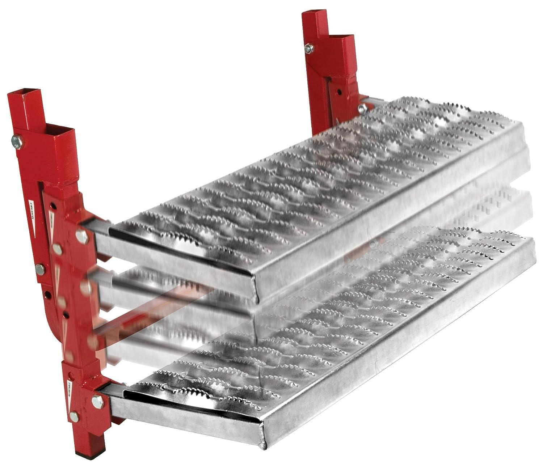 Black Performance Tool W41000 Pair of Hard Plastic Light Truck or Trailer Wheel Chock Blocks