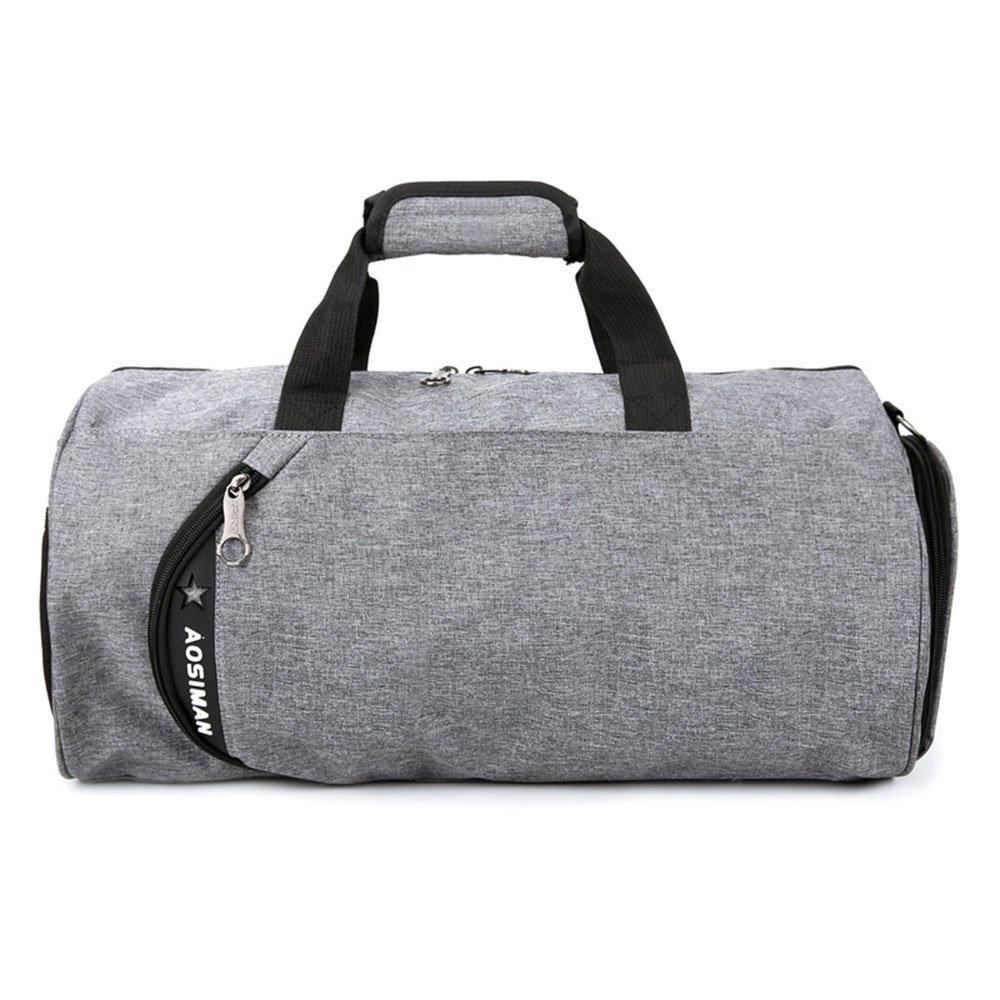 Yangjiaxuan Men And Women Casual Handbag Youth Travel Sports Shoulder Bag (Color : Gray)