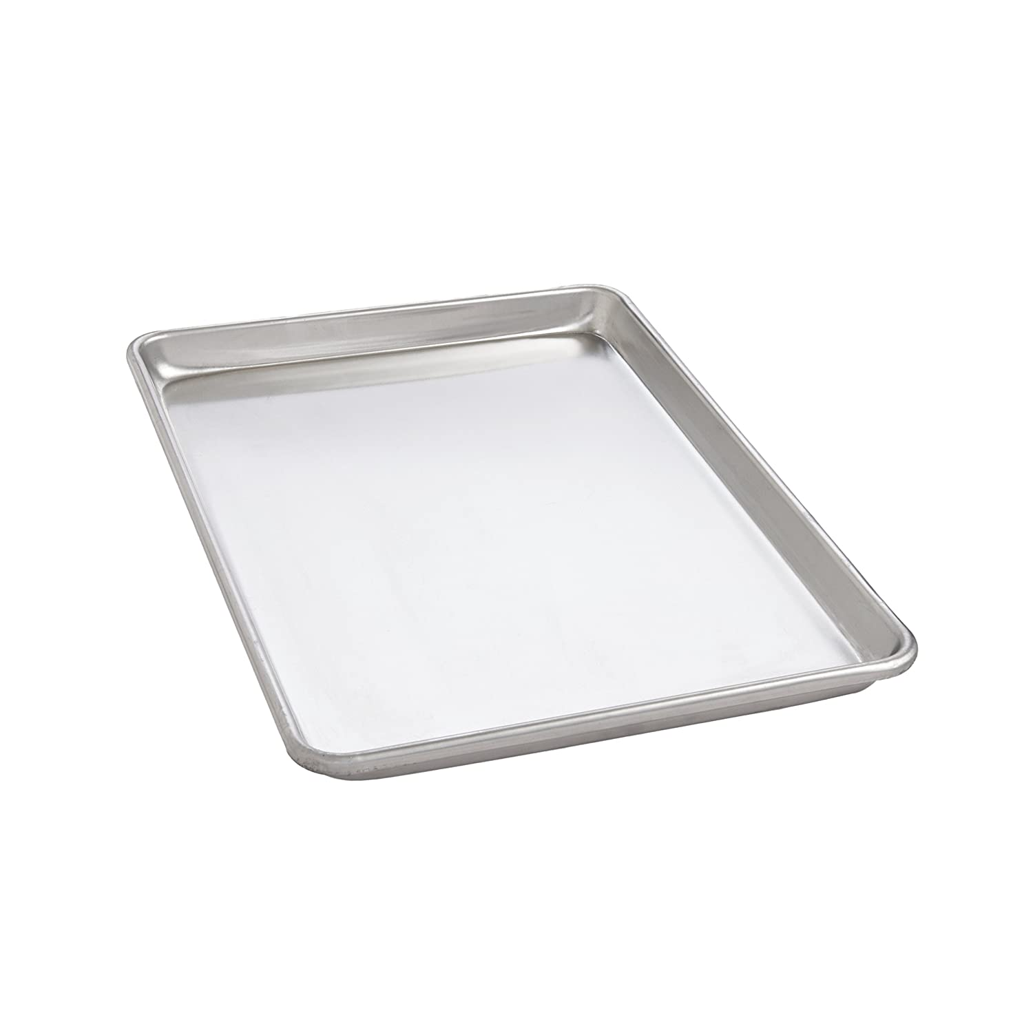 Mrs. Anderson's Baking Heavyweight Quarter Sheet Baking Pan, Commercial Grade 19-Gauge Aluminum, 9.5-Inches x 13-Inches Mrs. Anderson's 31814