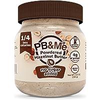 PB&Me PB&Me - Powdered Hazelnut Spread, Low-Calorie, High Protein, No Sugar Added, 184 Grams