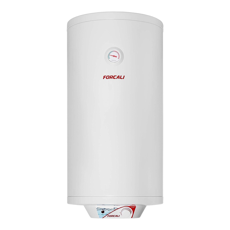 Termo eléctrico de agua vertical 100 Litros FEH-10S FORCALI serie LUX: Amazon.es: Bricolaje y herramientas