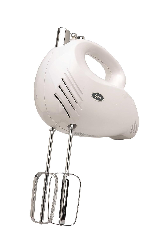 Oster 2500 Inspire 240-Watt 5-Speed Hand Mixer, White