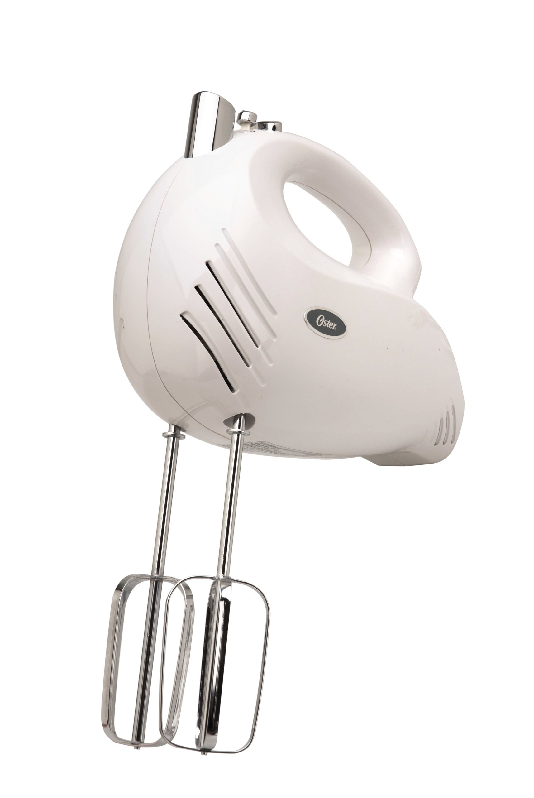 Oster 2500 Inspire 240-Watt 5-Speed Hand Mixer, White by Oster