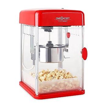 Klarstein Rockkorn • máquina de palomitas de maíz • retro ...
