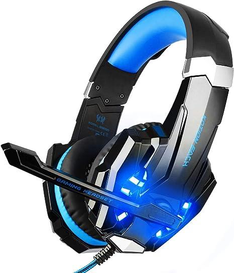 Amazon.com: Audífonos gamer BlueFire para PlayStation ...