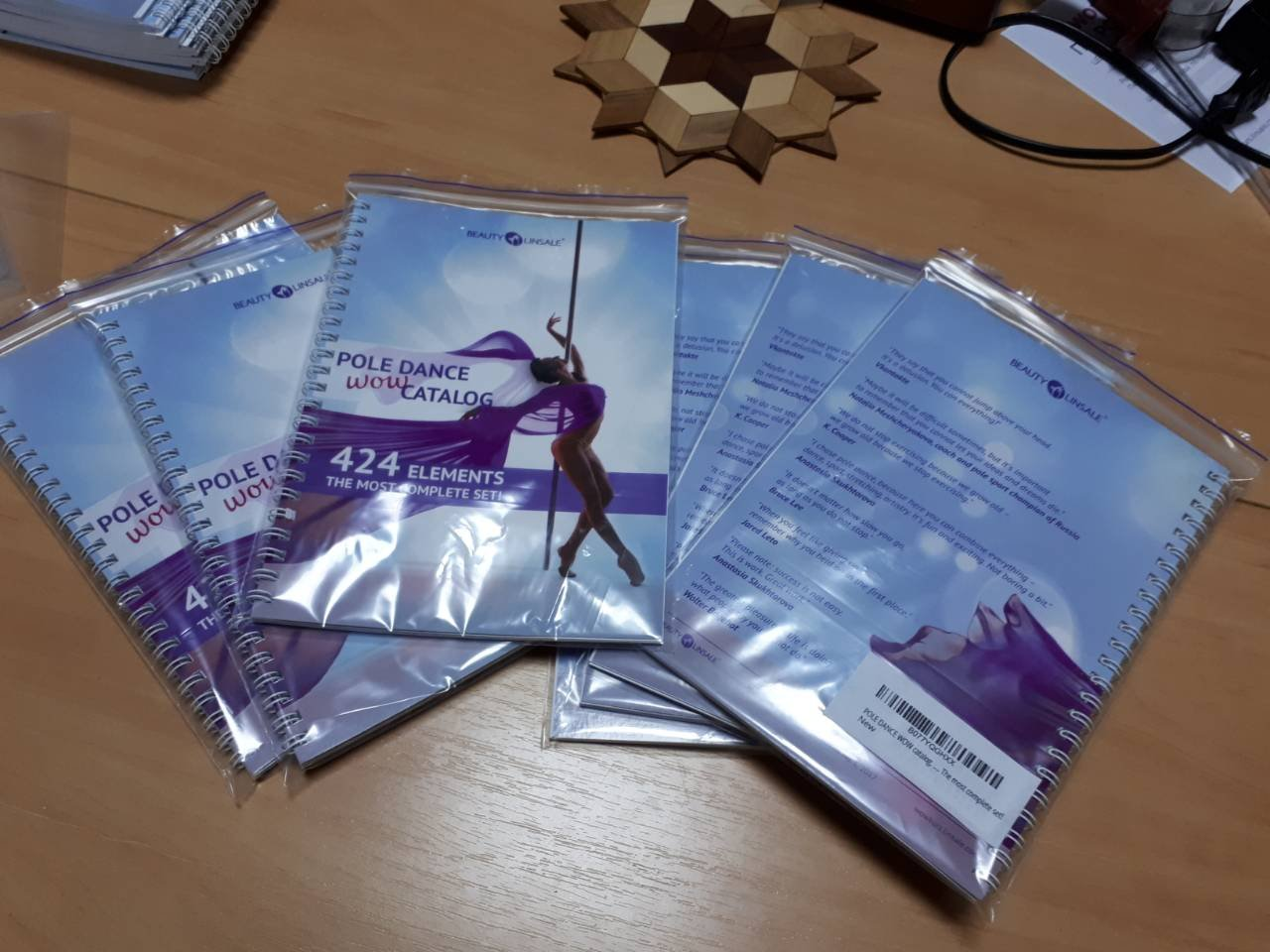 POLE DANCE WOW catalog. 424 elements. The most complete set! by SP Seredniak T.K.