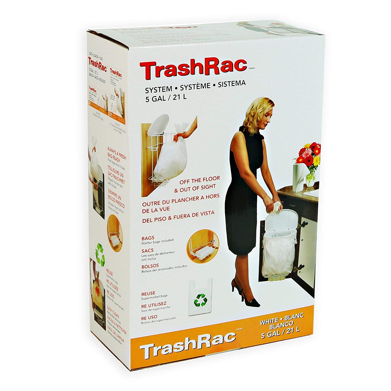 TRASHRAC 5 Gallon Trash Rack Frame System (131/4