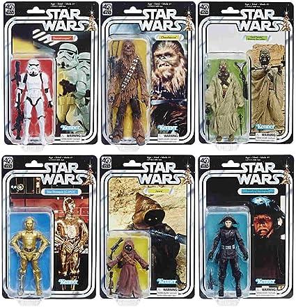 "Star Wars 40th Anniversary Wave 2 Black Series 6/"" INCH JAWA FIGURE"