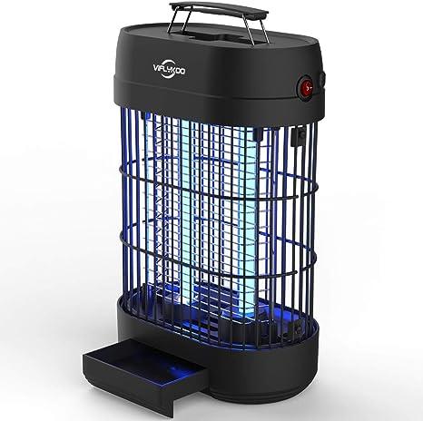VIFLYKOO Lámpara Antimosquitos,UV Lámpara Anti