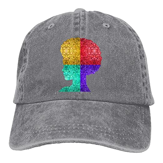 Prismatic Retro Vintage African Women Low Profile Washed Dyed Hats Baseball  Caps Adjustable 6d57a991135