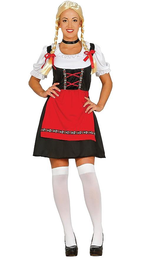 bf550835e858 Fiestas Guirca-84619 Costume da Cameriera Bavarese Sexy per Adulti ...