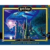 New York Puzzle Company - Harry Potter Journey to Hogwarts - 500 Piece Jigsaw Puzzle