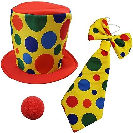 Amazon.com  Funny Party Hats Clown Costume - Clown Hat c4026b2acff