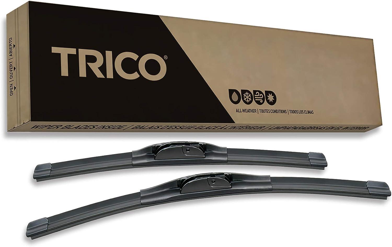 Pack of 2 22 TRICO Black High Performance Premium Beam Wiper Blades 22