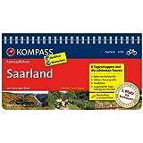 Saarland: Fahrradführer mit Routenkarten im optimalen Maßstab. (KOMPASS-Fahrradführer, Band 6254)